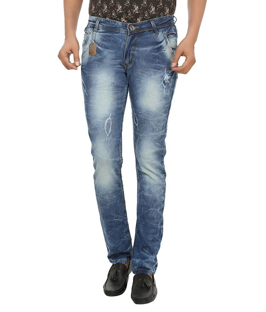 Aeron Blue Regular Fit Jeans