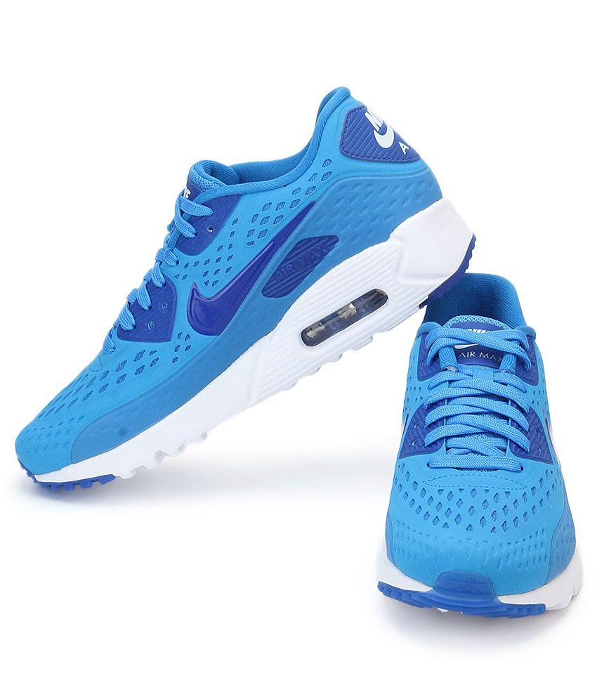 e93fd4cd97e0 Nike Air Max 90 Ultra Blue Sports Shoes - Buy Nike Air Max 90 Ultra ...