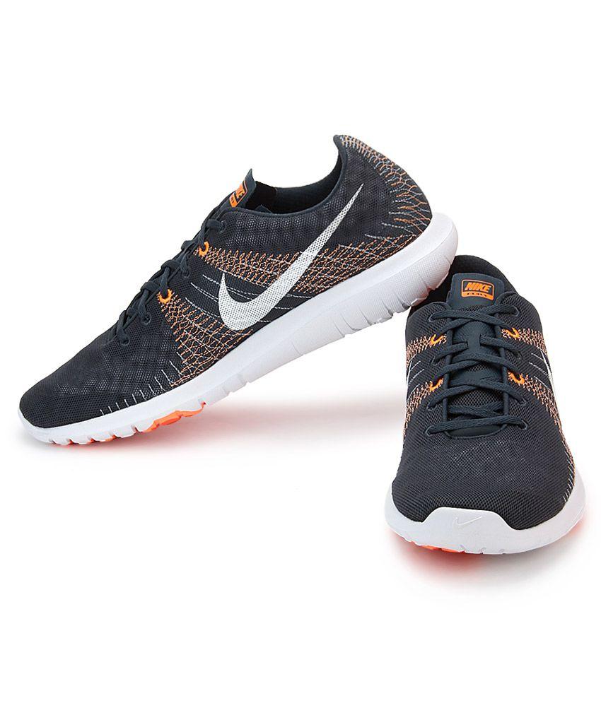 free shipping a2667 98e8a Nike Flex Fury Gray Sports Shoes Nike Flex Fury Gray Sports Shoes ...