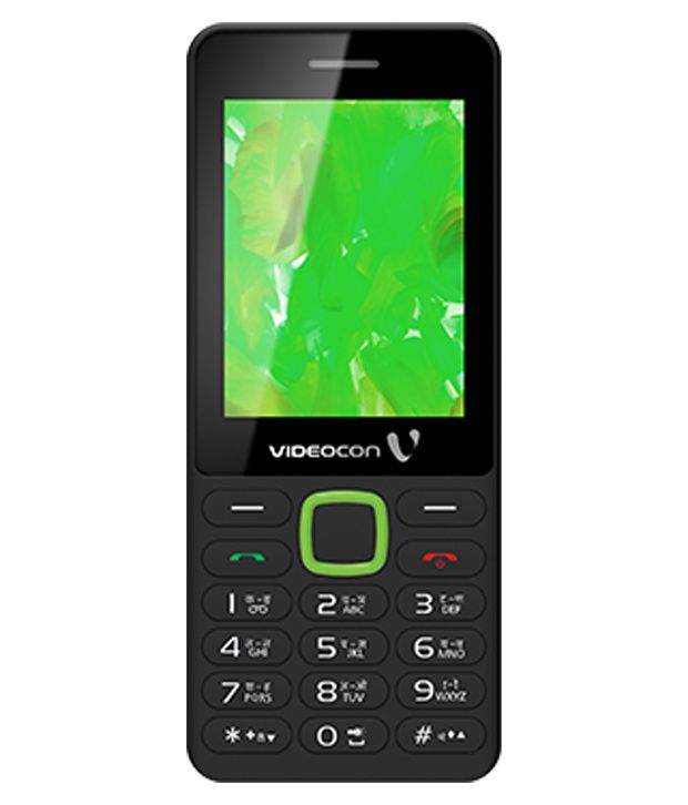 Videocon V1524+ Black-Green