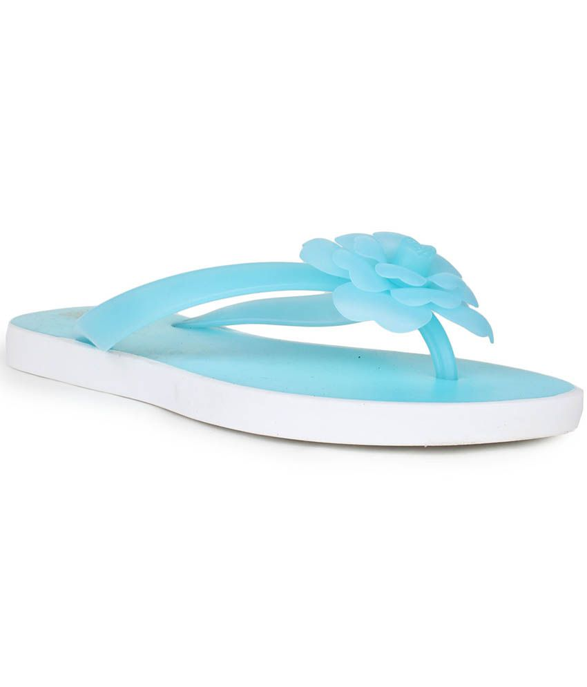 8d8e35abc Do Bhai Blue Flat Slip-on Price in India- Buy Do Bhai Blue Flat Slip-on  Online at Snapdeal