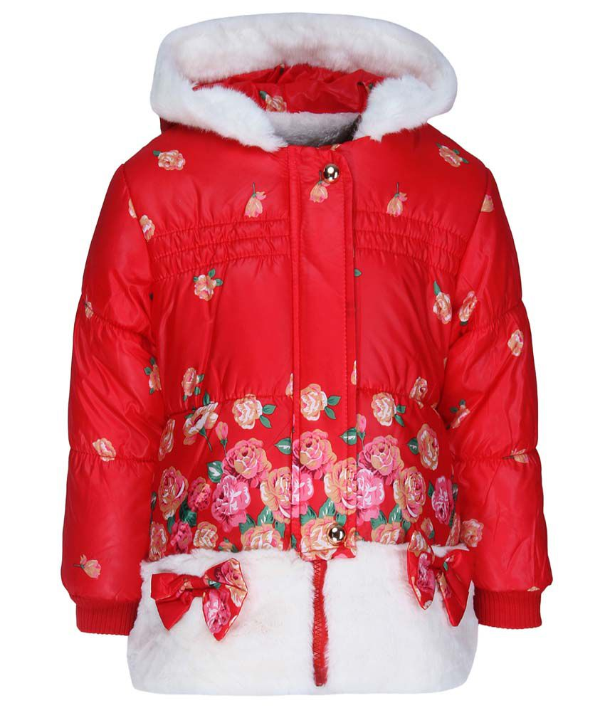 Sakhi Sang Red Full Sleeves Jacket