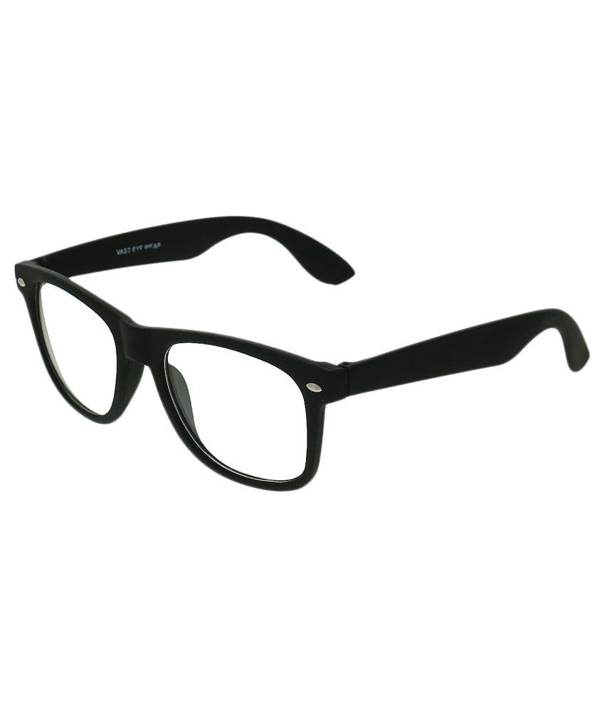 Vast Black Wayfarer Sunglasses