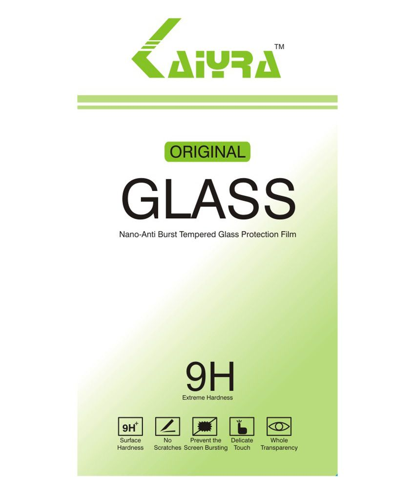 Kaiyra Tempered Glass Screen Protector For Lava X8