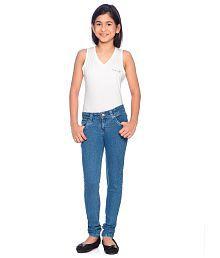 Clench Girls Full Jeans