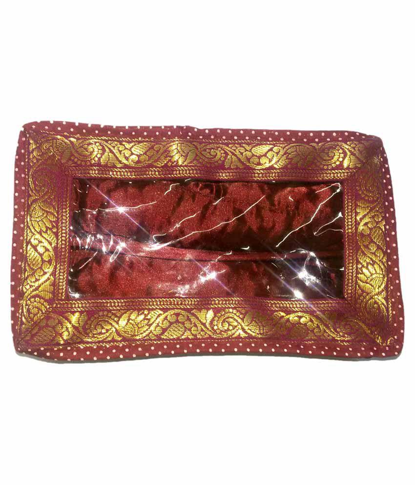 Luv Kush Handmade Designer Satin Made Bangle Box Of 2 Row