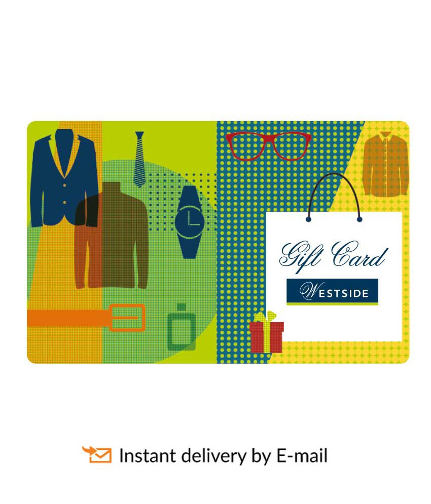 Westside E Gift Card Buy Online On Snapdeal