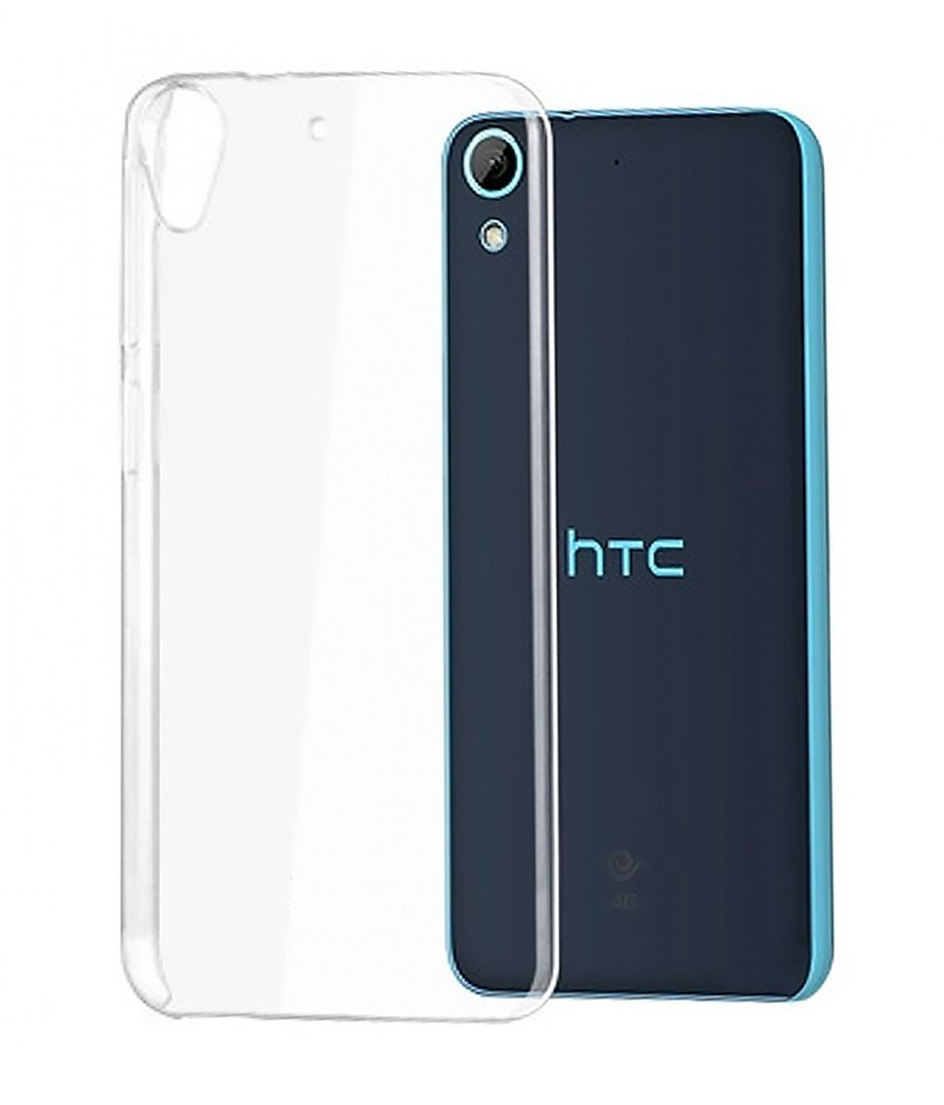best loved a6d17 009a1 Groovy Back Cover For Htc Desire 626g+ - Transparent