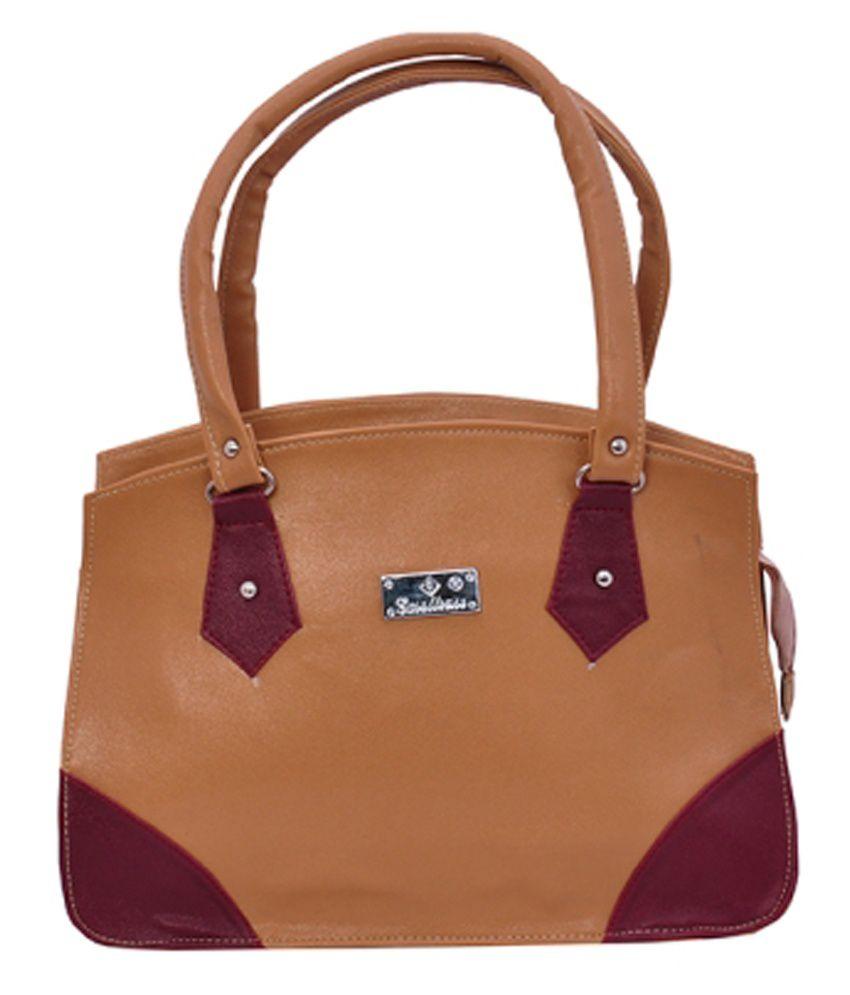 b3f274bc7d60 Mk Bag Brown Shoulder Bag - Buy Mk Bag Brown Shoulder Bag Online at Best  Prices in India on Snapdeal