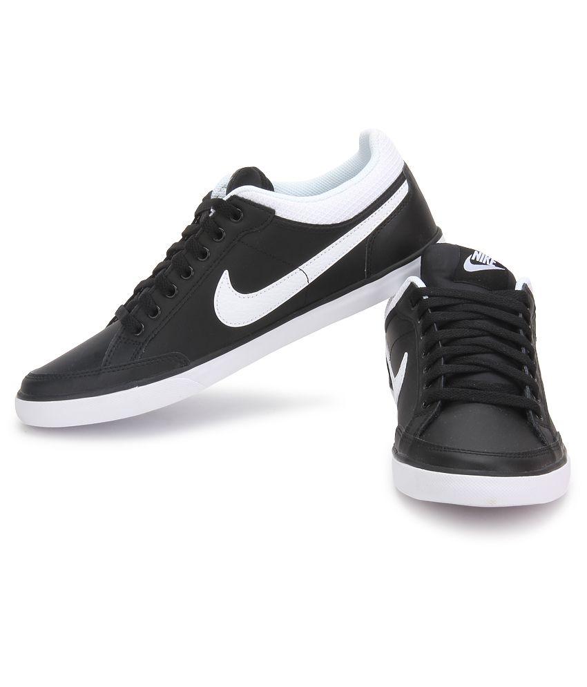 Nike Schoenen kopen Casual Black Lthr Low Iii Capri wqw17Z