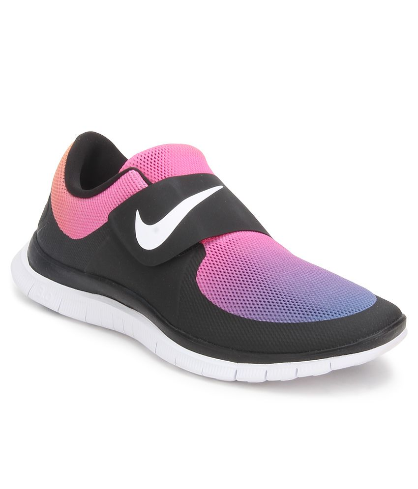 732dacccdb7c Nike Free Socfly Black Sports Shoes - Buy Nike Free Socfly Black Sports  Shoes Online at Best Prices in India on Snapdeal