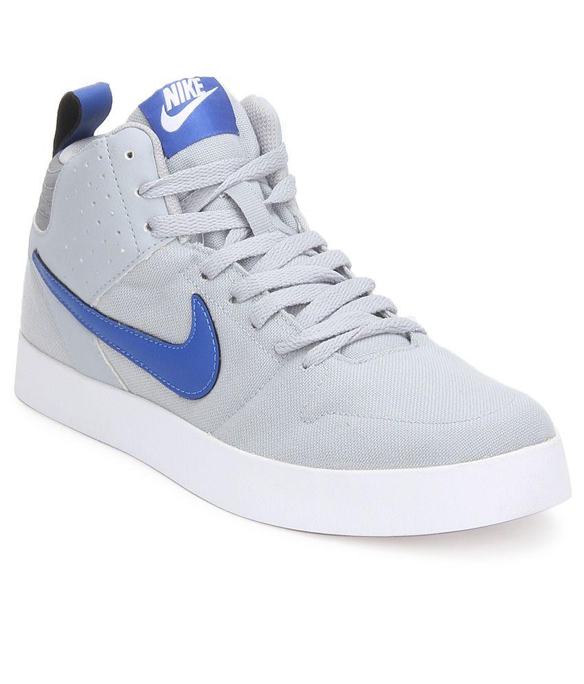 ... sneakers · nike liteforce iii mid sl gray casual shoes ...