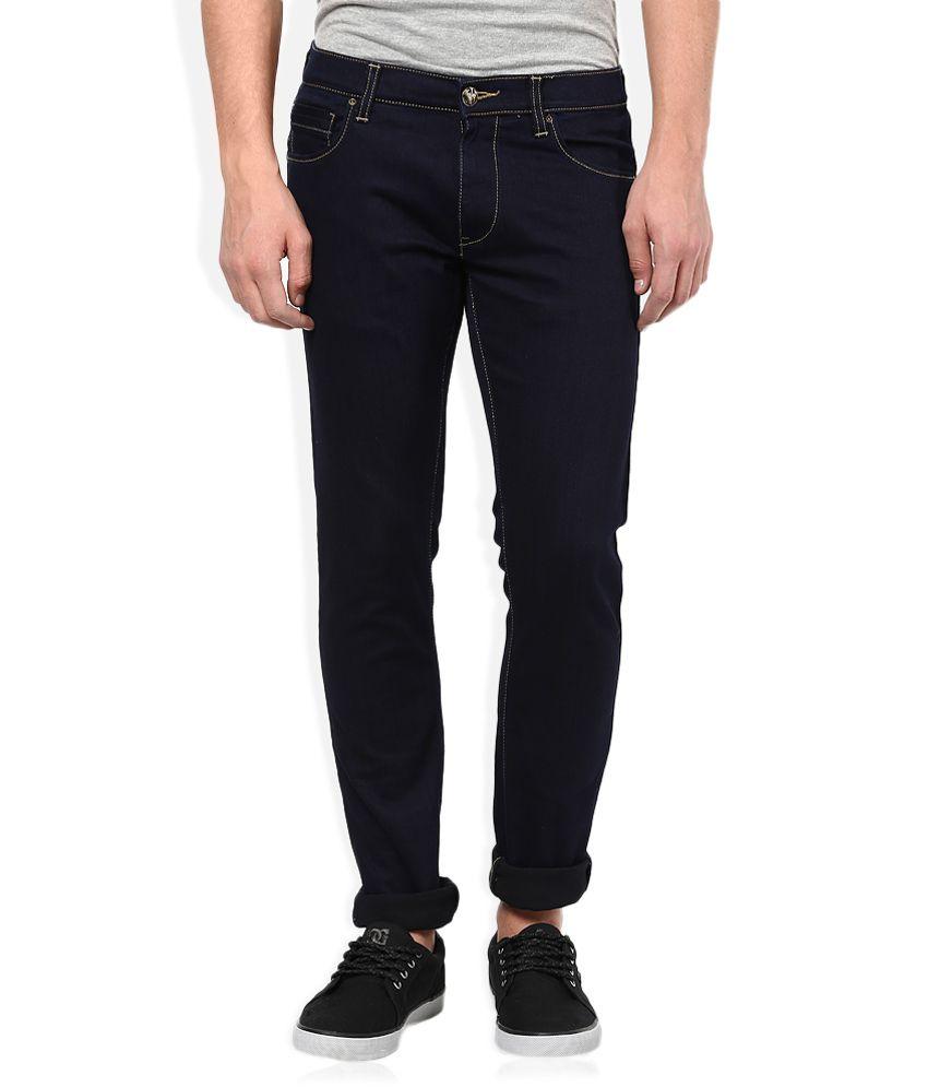 Lee Black Raw Denim Slim Fit Jeans