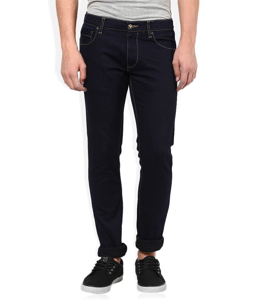 Lee Black Raw Denim Slim Fit Jeans