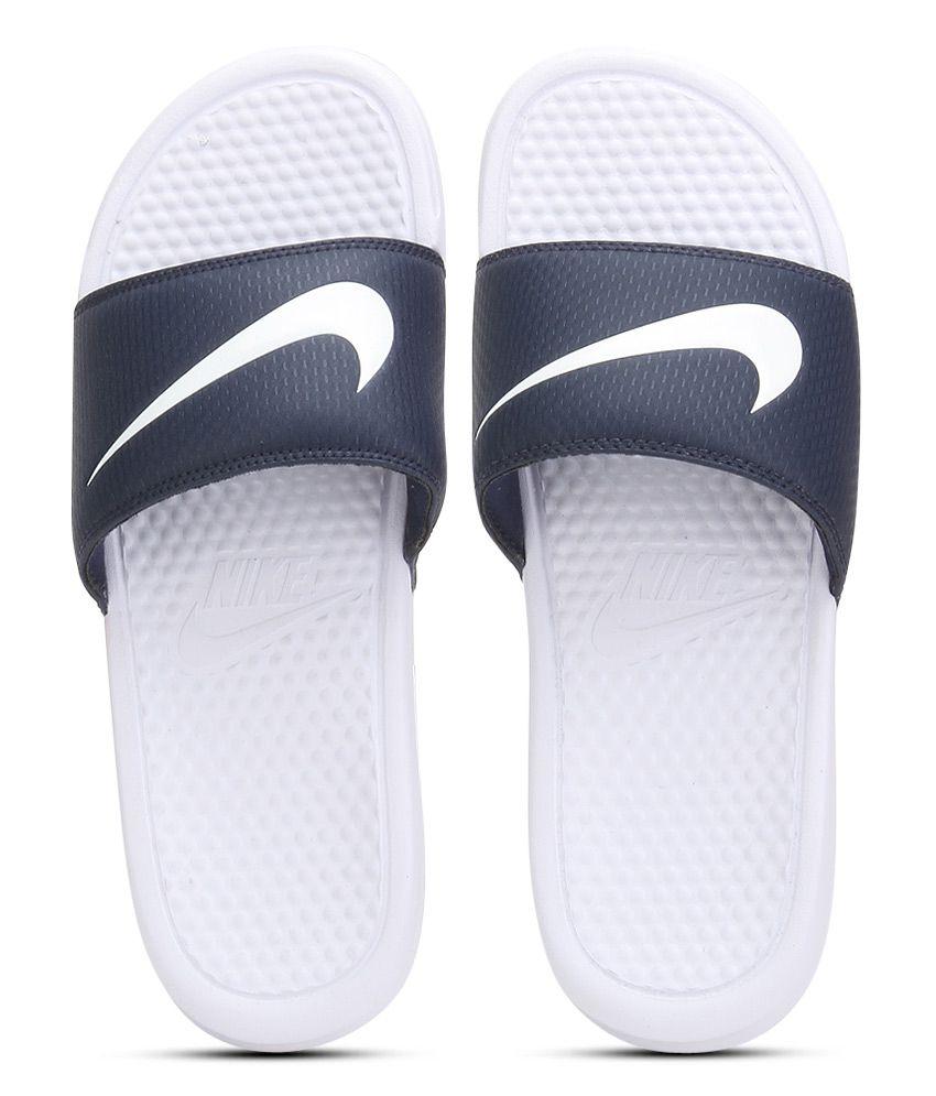 bc9cb62dbad0 Nike Benassi Swoosh Navy Flip Flops Price in India- Buy Nike Benassi Swoosh Navy  Flip Flops Online at Snapdeal