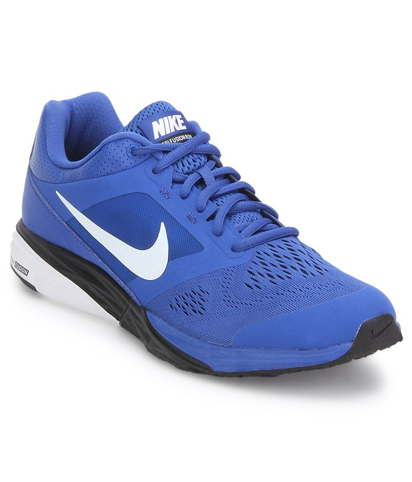 8367737c4ba Nike Tri Fusion Run Msl Blue Sport Shoes - Buy Nike Tri Fusion Run Msl Blue Sport  Shoes Online at Best Prices in India on Snapdeal
