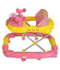 KKD Pink Plastic Deluxe Walker