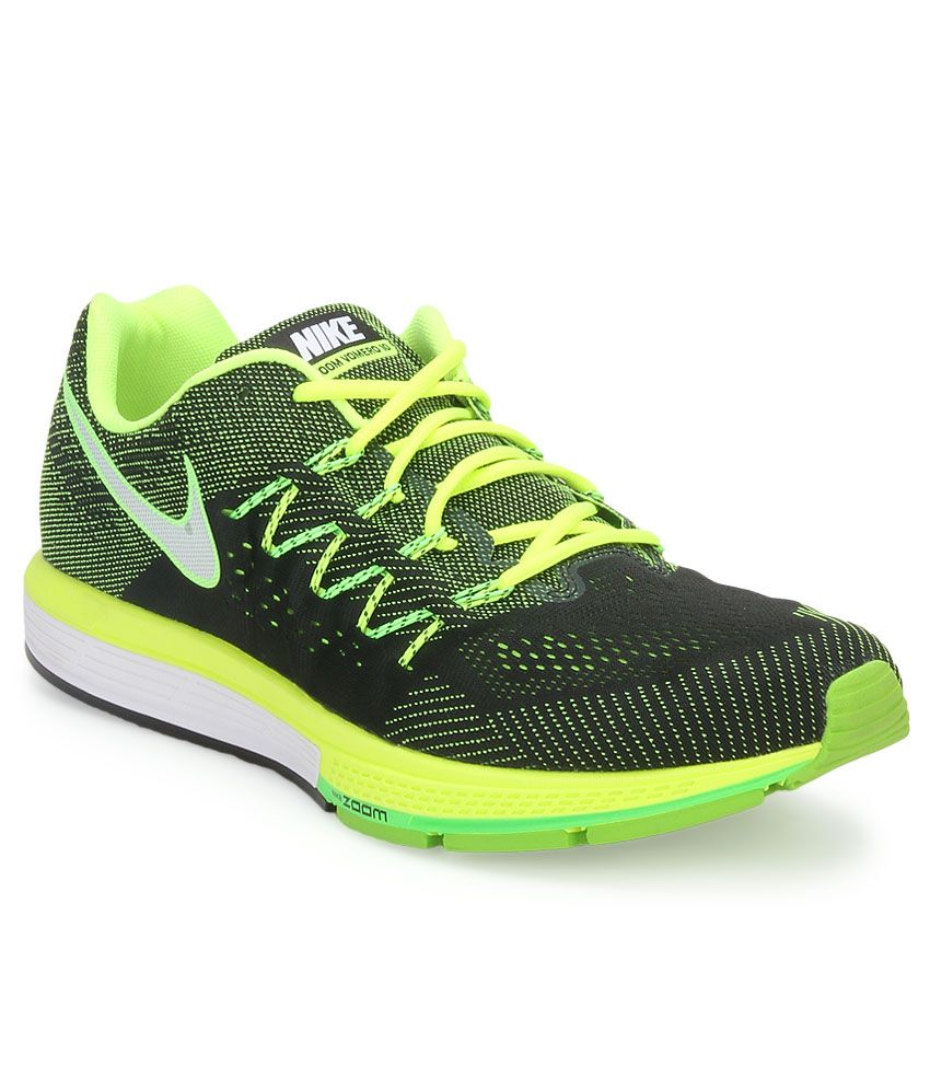 buy popular 1cc4e adef6 Nike Air Zoom Vomero 10 Green Sports Shoes - Buy Nike Air Zoom Vomero 10  Green Sports Shoes Online at Best Prices in India on Snapdeal