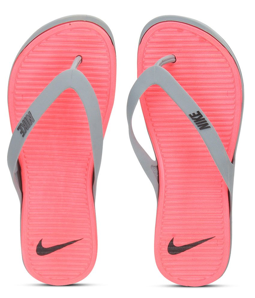 huge discount 3d9f4 f88ec Nike Women Matira Thong Gray Slippers