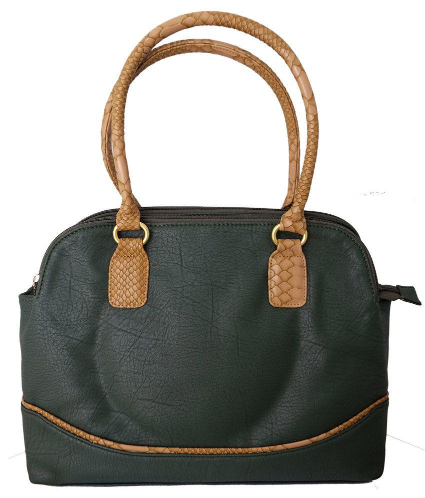 Super Drool Green Shoulder Bag