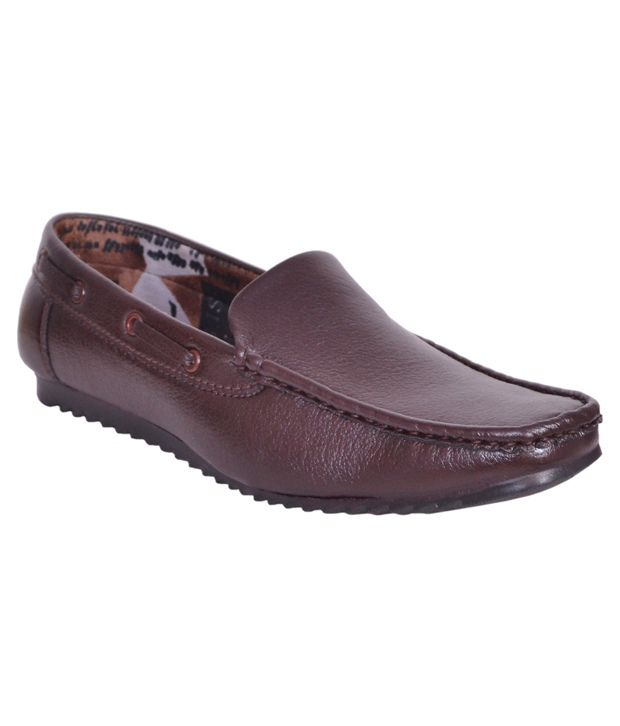 Sukun Brown Loafers