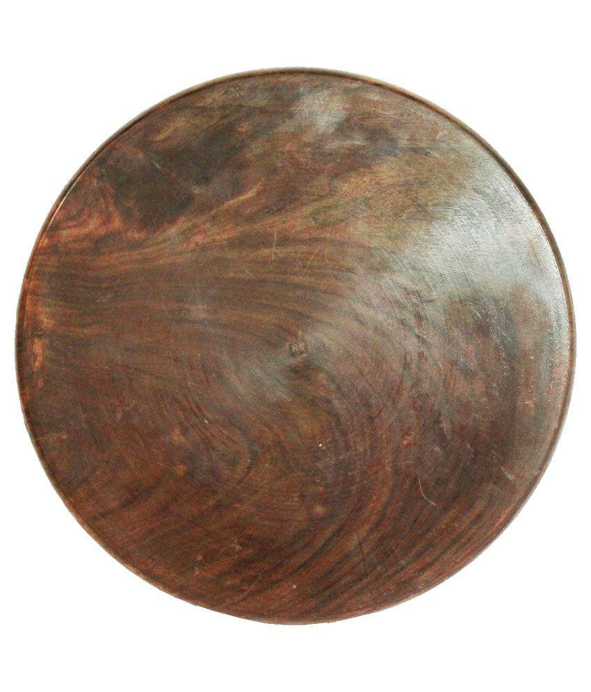 Kathuria Wooden Sheesham Chakla And Rolling Board