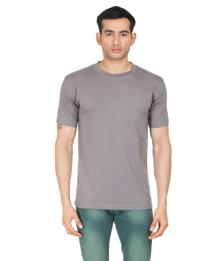 Winfield Grey Cotton Basics T-shirt