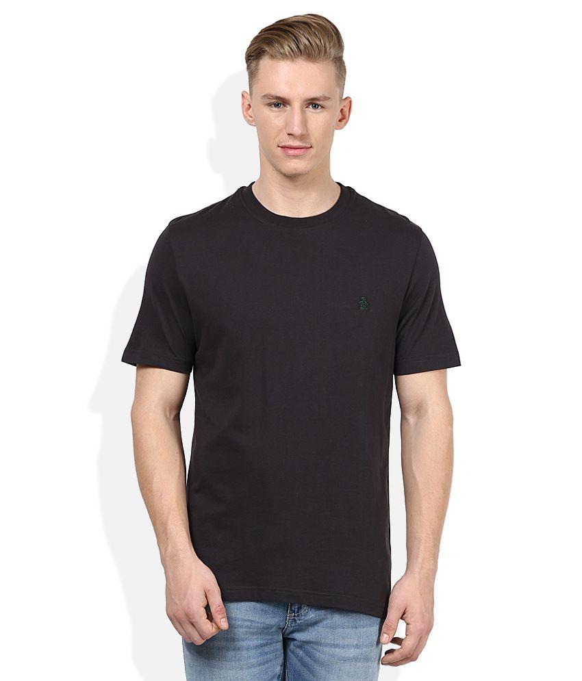 Original Penguin Grey Round Neck T-Shirt