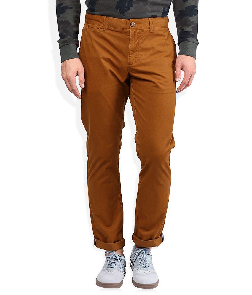 Original Penguin Khaki Slim Fit Casuals Chinos