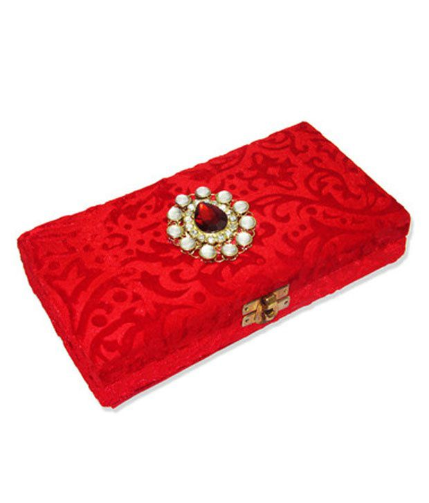 Weddingpitara Wood Wedding Cash Box
