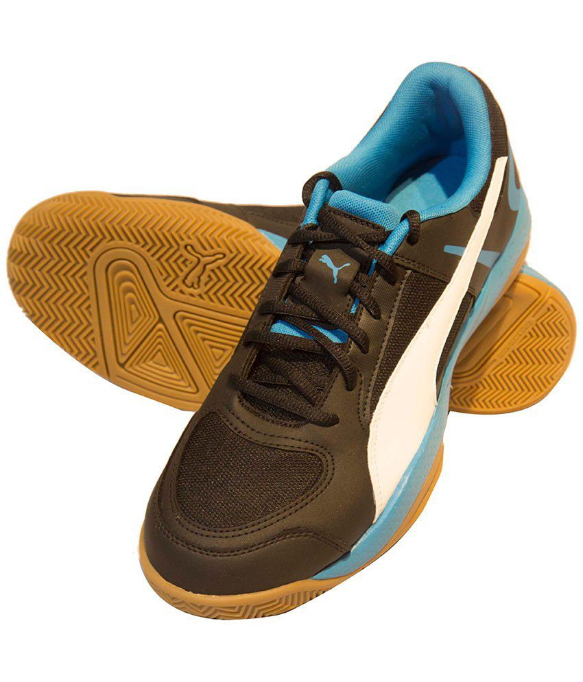 Puma Veloz Indoor Ii Black Indoor Sports Shoes - Buy Puma Veloz ... e9ba791f9