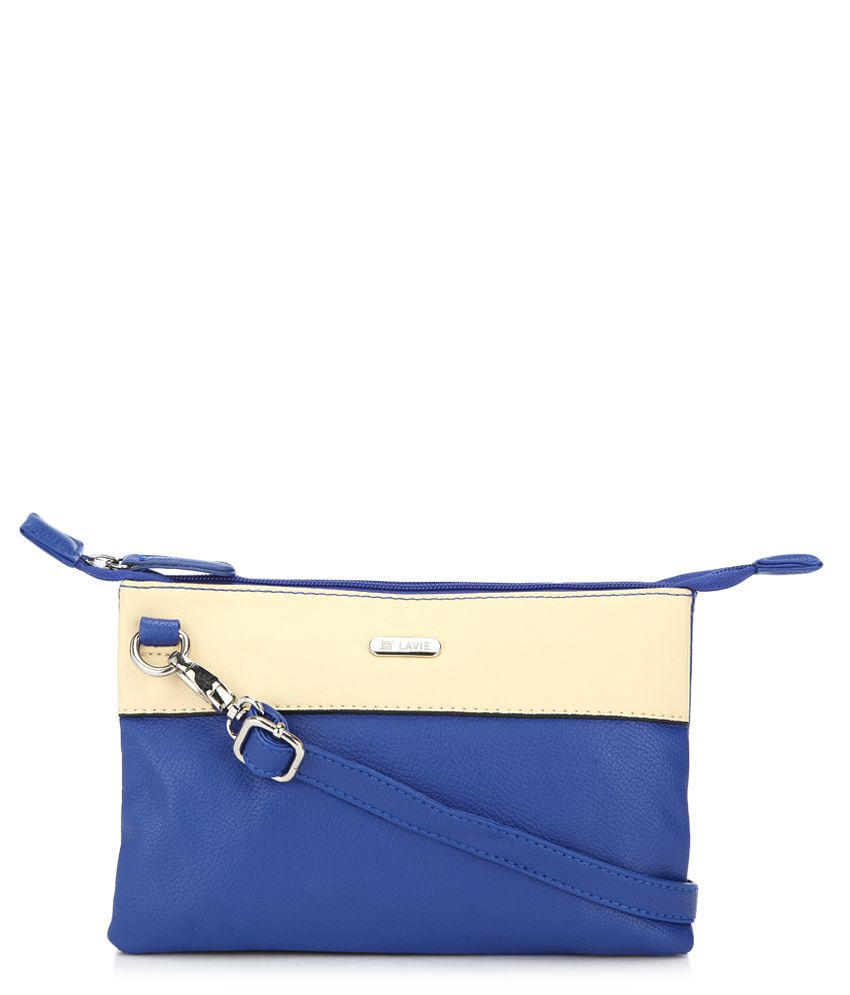 School bags online myntra - Lavie Punk Blue P U Small Sling Handbag Available At