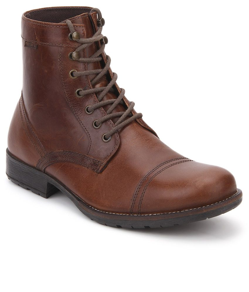 Red Tape Brown Boots