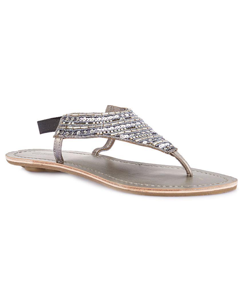 Catwalk Silver Sandals