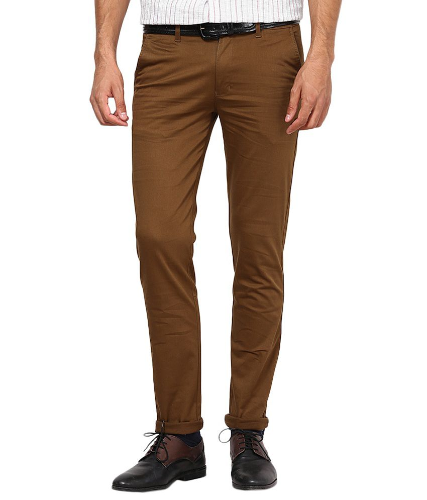 Inspire Clothing Inspiration D.Khaki Slim Fit Casual Chinos