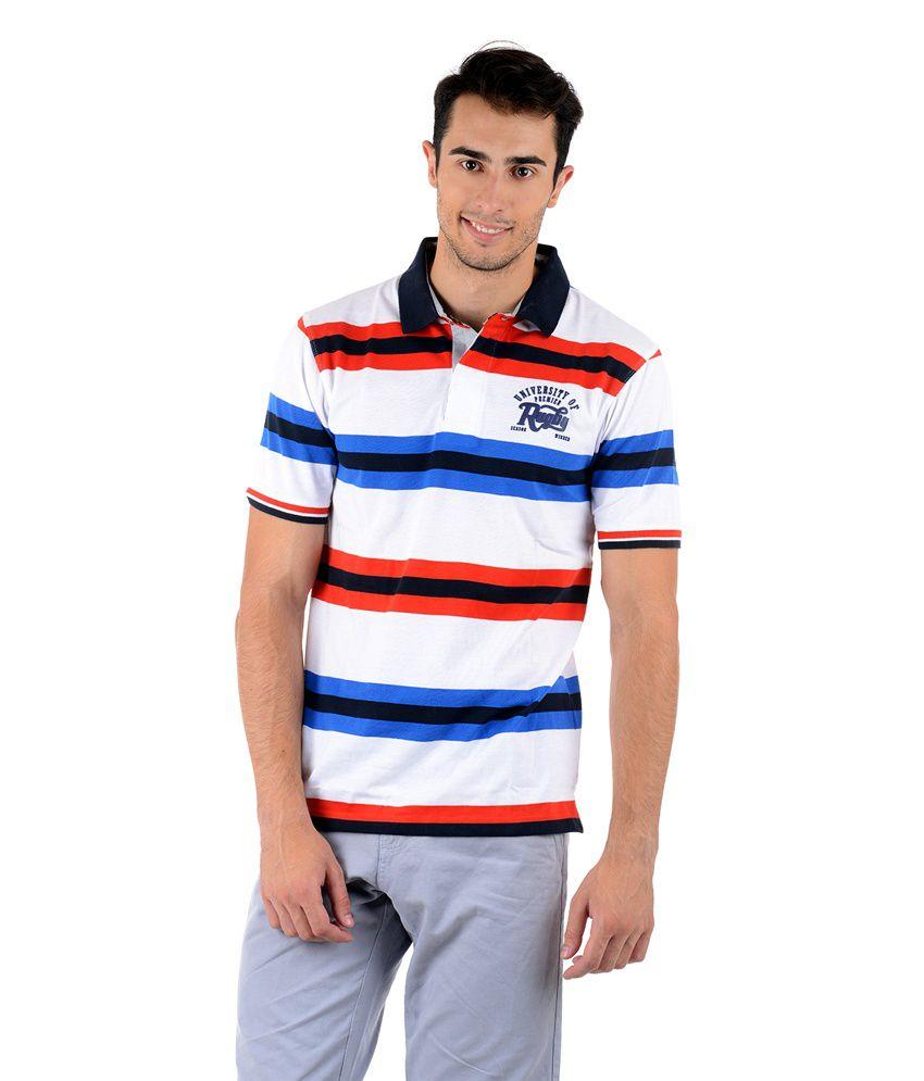 Keywest Multicolour Cotton T-shirt