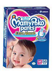 Mamy Poko Pants M 56Pcs-Pack of 2