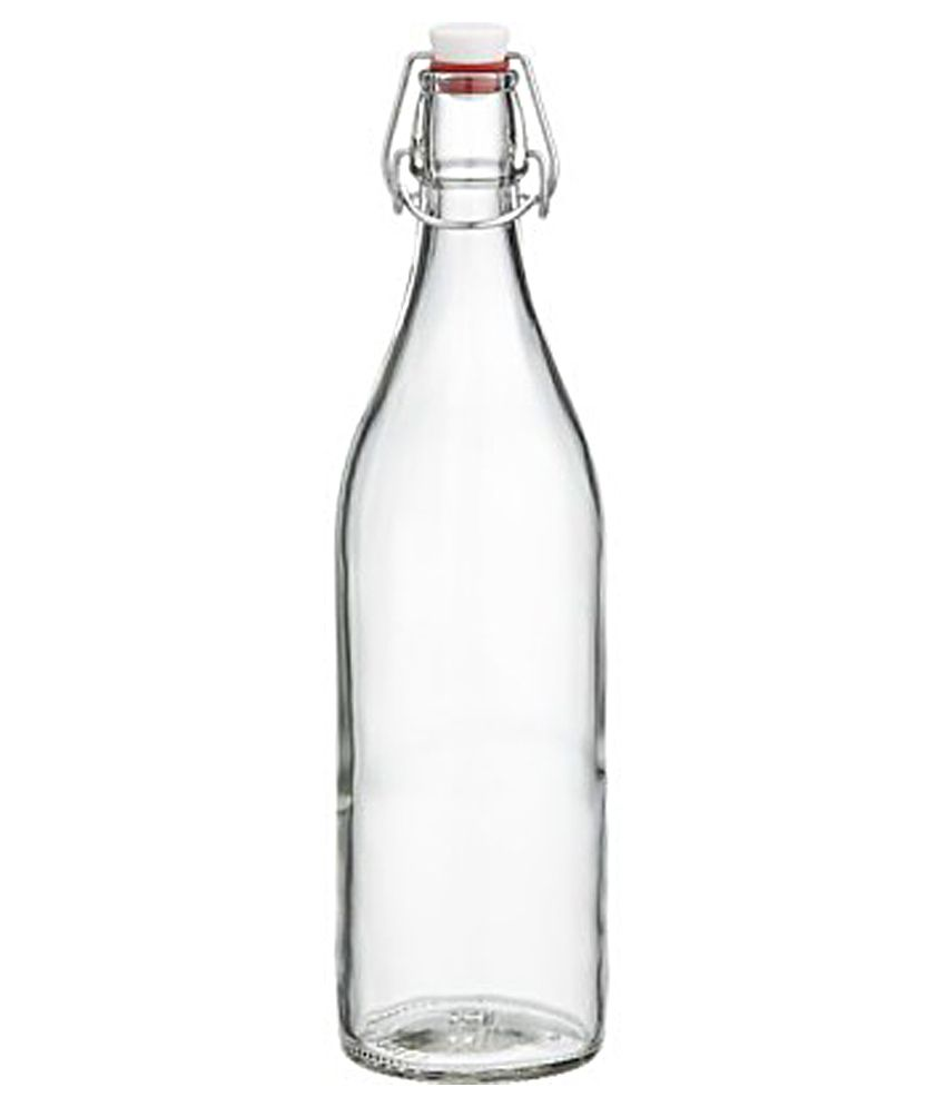 Gabberr clear glass bottle buy online at best price in - What to put in glass bottles ...