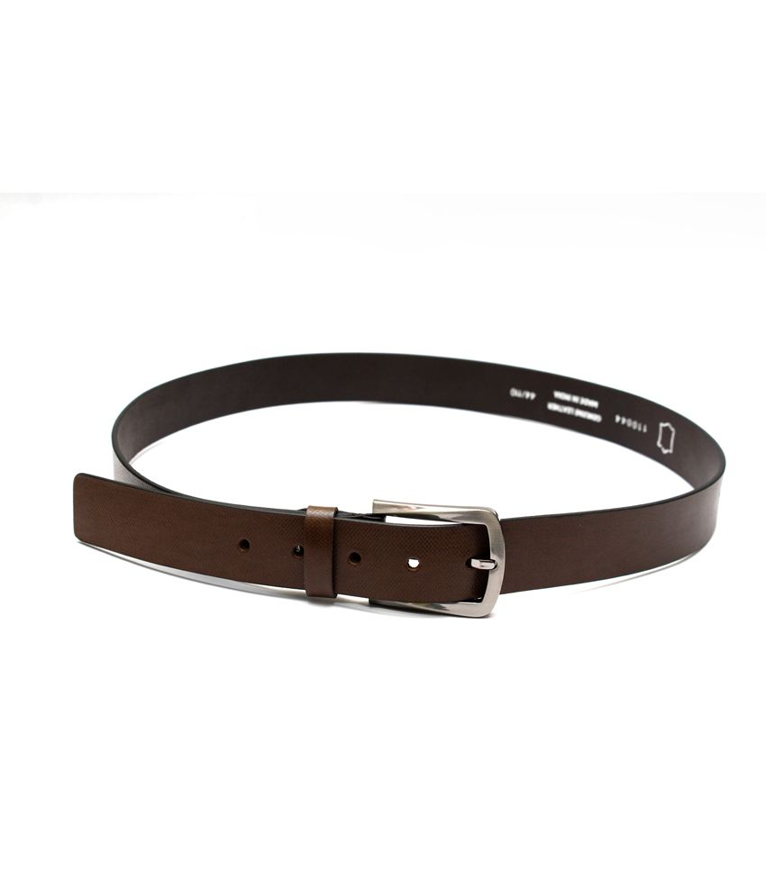 Krazoo Brown Leather Belt