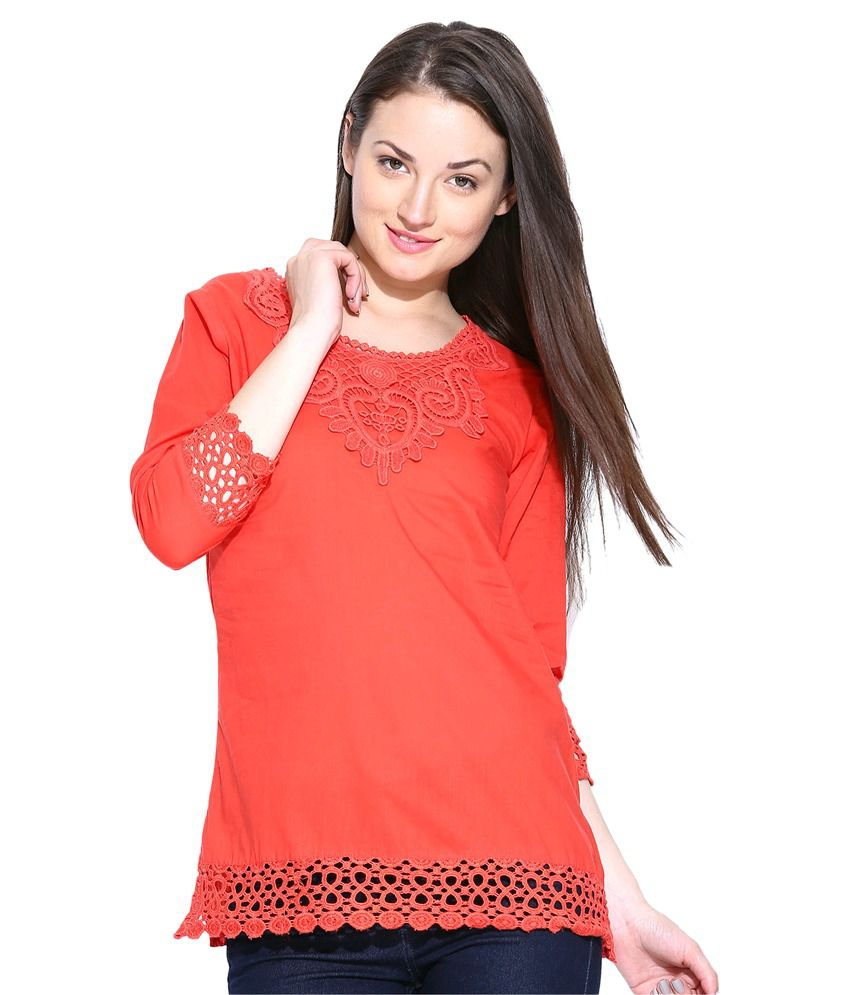 9c81abefe U F Cotton Regular Tops - Buy U F Cotton Regular Tops Online at Best Prices  in India on Snapdeal
