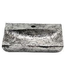 Ark Creation Silver Metal Designer Wash Basin