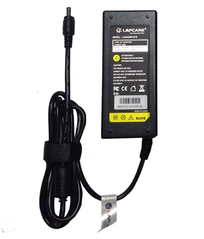 Lapcare 65W Adapter For Acer Aspire-4750 With Actone High Quality Power Cord