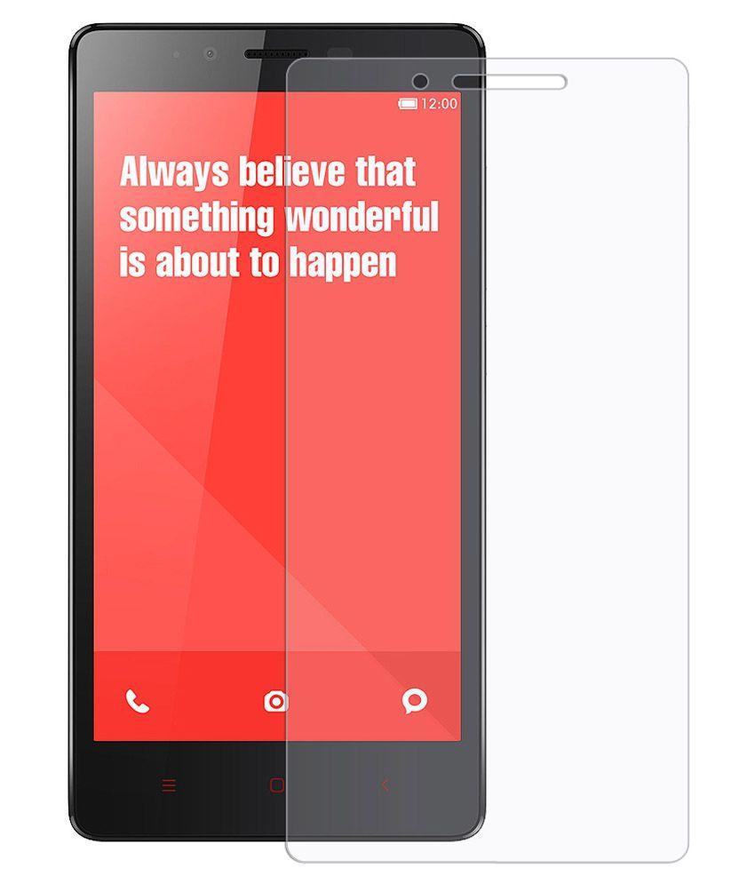 amzer clear screen guard for xiaomi redmi note 4g   mobile