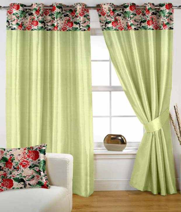 HOMEC Single Window Eyelet Curtain