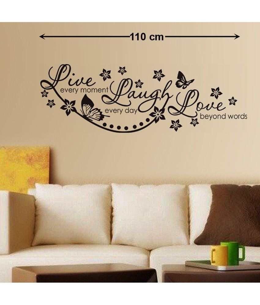 StickersKart Love PVC Wall Stickers Buy StickersKart Love PVC - Wall decals online