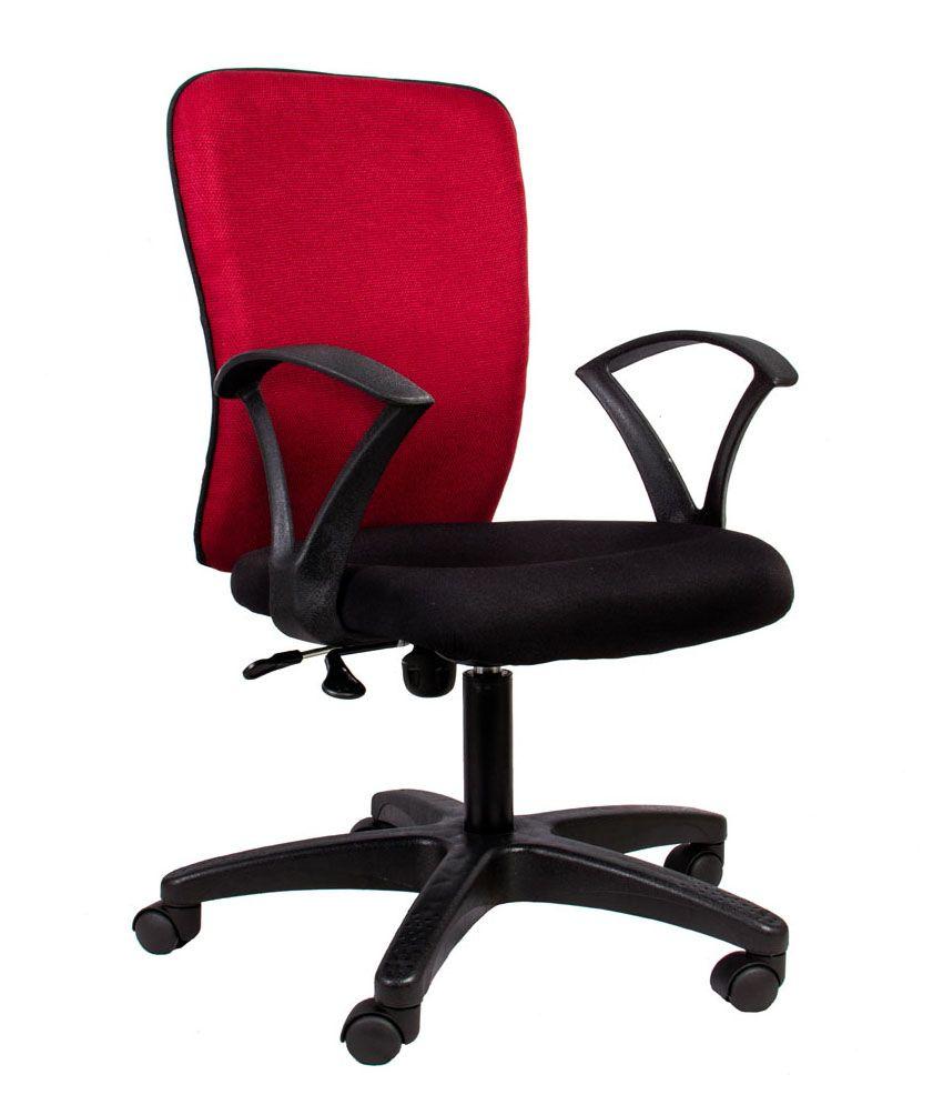 Zebra Office Chair In Matte Finish