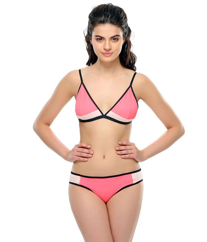 04418541758c Clovia Hot Pink Sexy Bikini Set