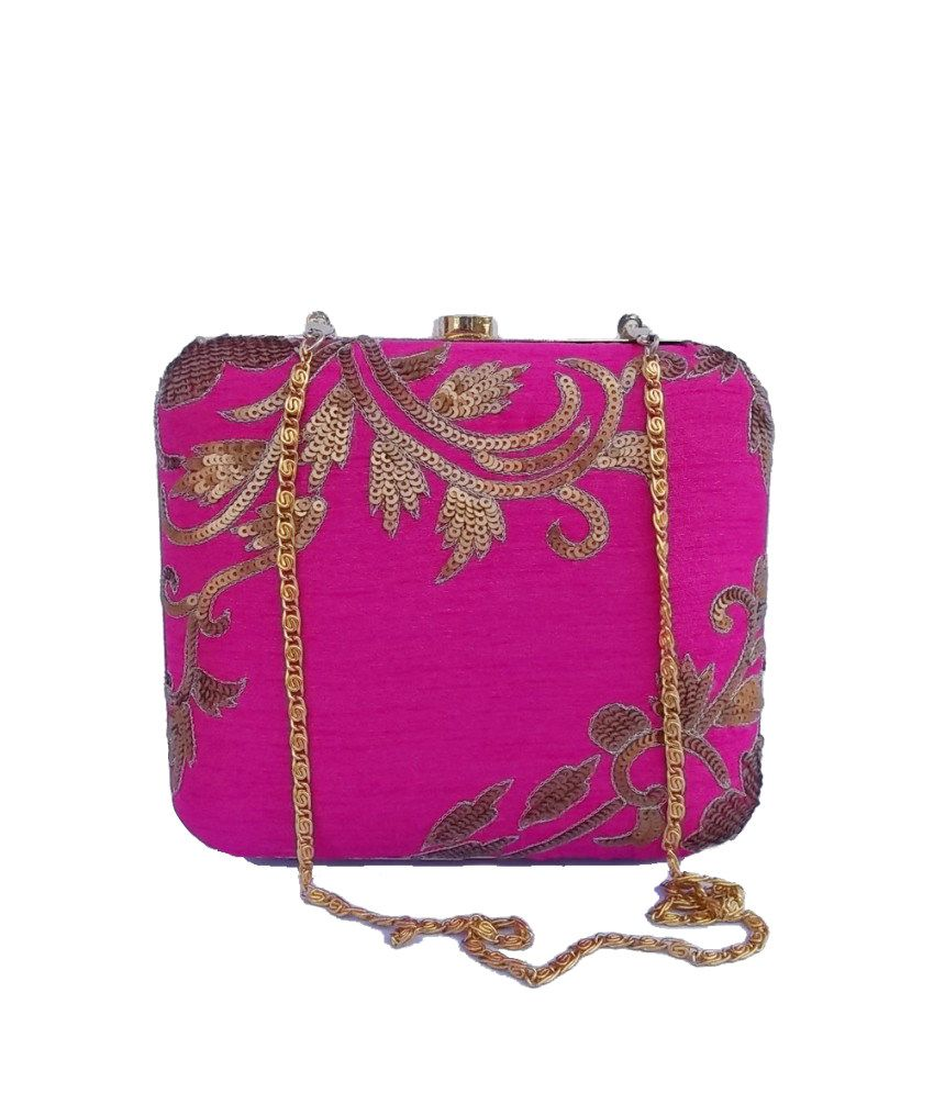 AHS Crafts AHSCL188 Pink Clutch