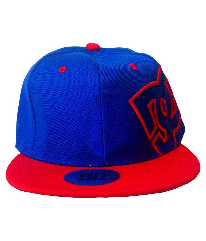 SB Blue & Red Cotton Baseball Cap