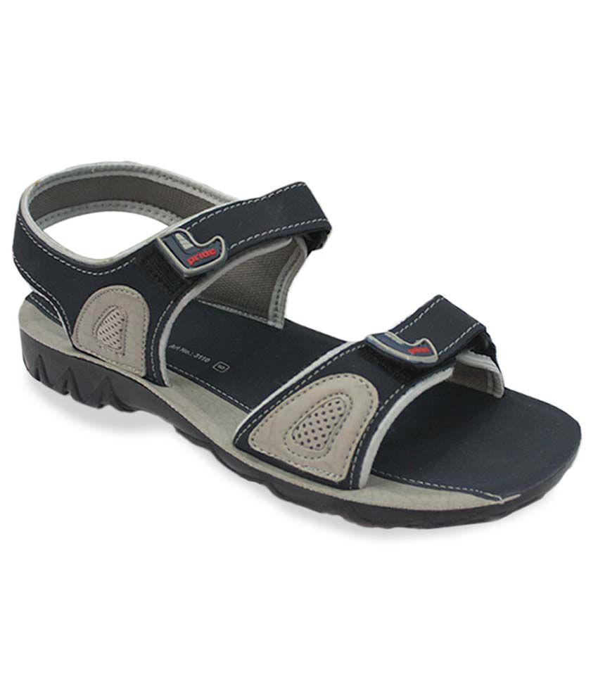 c78aef9f3 VKC Pride Blue Floater Sandals Price in India- Buy VKC Pride Blue Floater Sandals  Online at Snapdeal